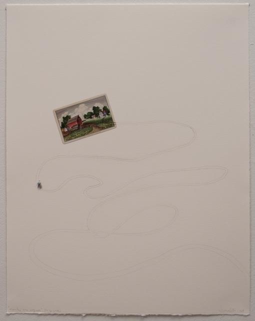 , 'To go back,' 2014, Espacio Mínimo