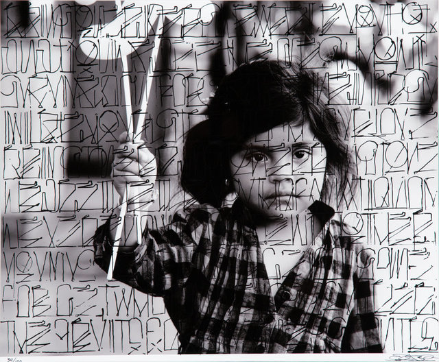 RETNA, 'Future in Her Eyes', 2011, Heritage Auctions