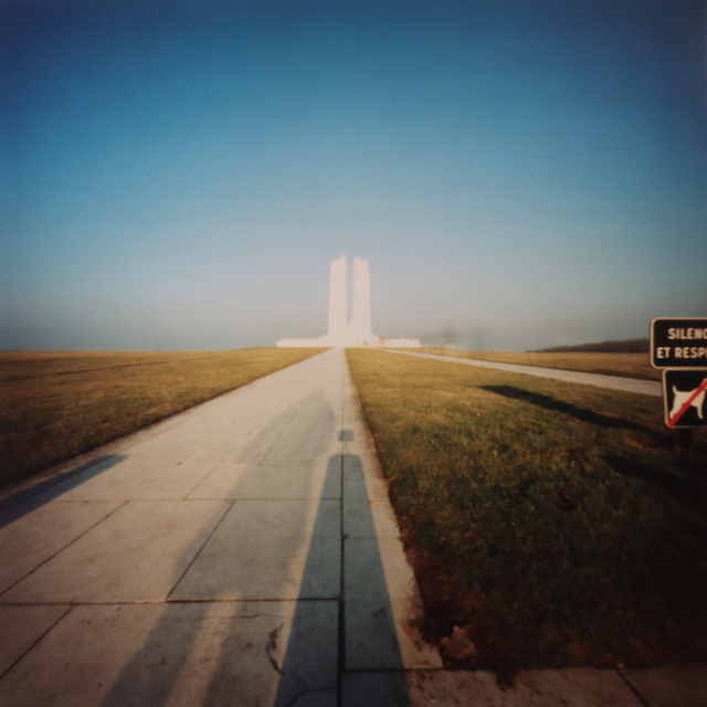 , 'Vimy Ridge Memorial, Shadow,' 2003, Newzones