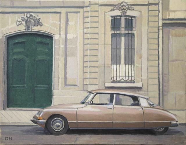, 'Gold Citroen,' 2018, Galerie Pixi - Marie Victoire Poliakoff