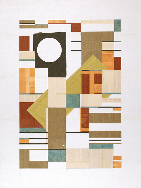 , 'a tiled inquirer,' 2012, Narwhal Projects