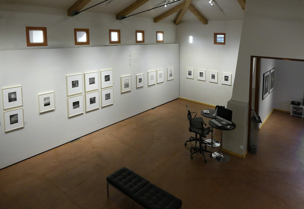 Loft View – Chaco Terada installed at photo-eye Gallery, Santa Fe, NM.