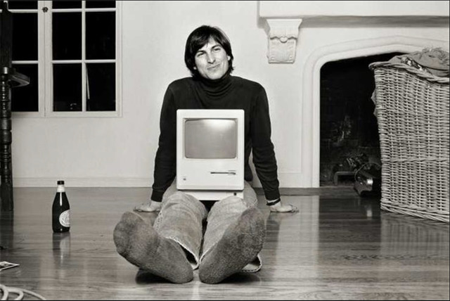 Norman Seeff, 'Steve Jobs (With a Bottle of San Francisco's Best)', 1984, Mouche Gallery