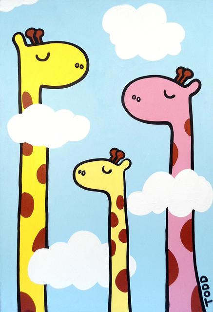 , 'Giraffes Are Cool,' , The Ross Art Group Inc.