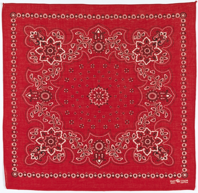 'Bandanna', early 20th century, Cooper Hewitt, Smithsonian Design Museum