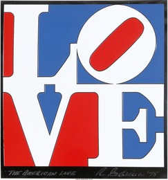 Robert Indiana, 'The American Love,' 1975, Heritage Auctions: Valentine's Day Prints & Multiples