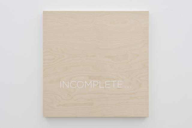 , 'Incomplete...,' 2015, Parra & Romero