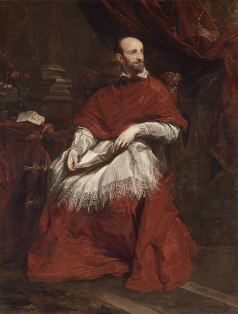 Anthony van Dyck, 'Cardinal Guido Bentivoglio', 1623, The Frick Collection