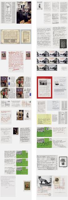 Hanne Darboven, 'Tageszettel Arbeitszettel', 2009, Schellmann Art