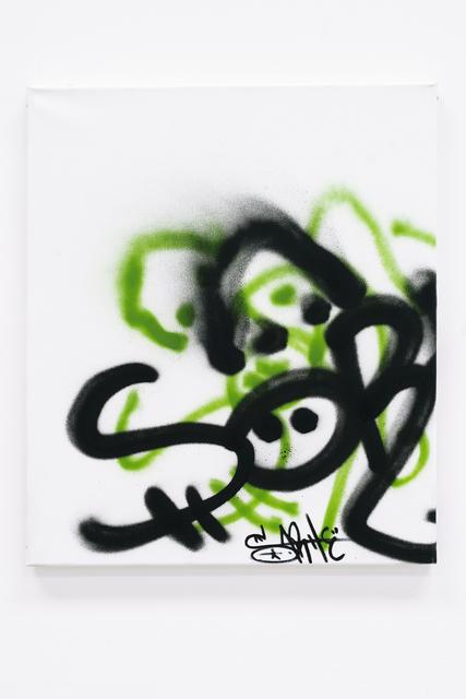 , 'Gebrauchsbild 170 p (Patina Painting) Le Plateau, Paris,' 2014, Barbara Gross