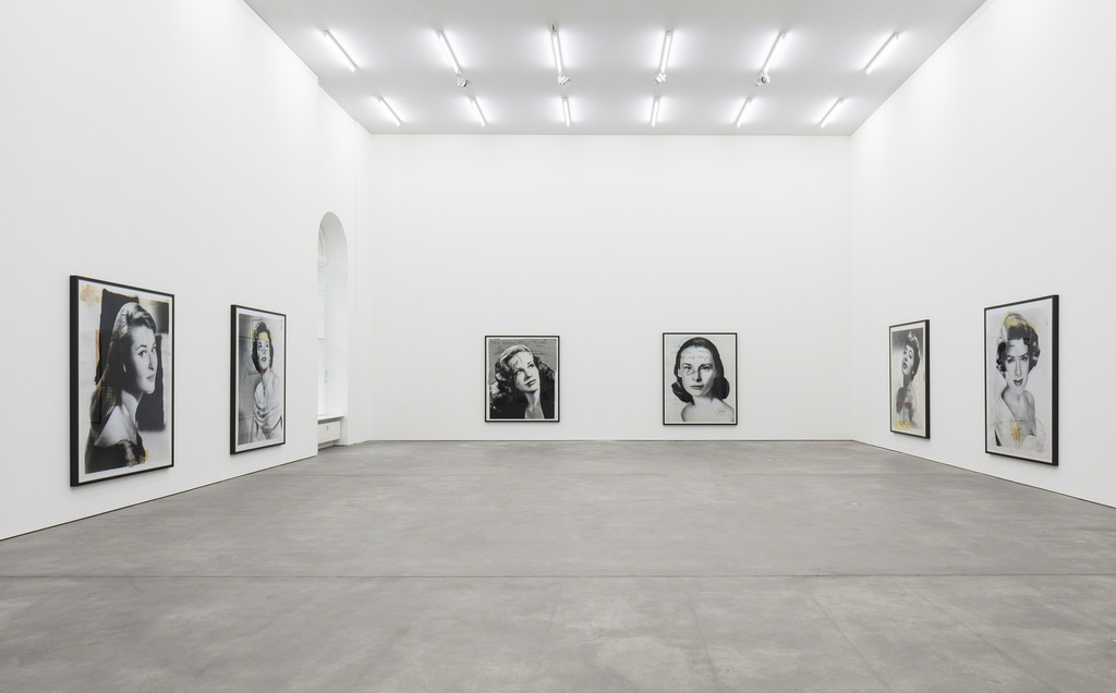 Thomas Ruff, Installation view, 'New Works', Sprüth Magers,􀀏 Berlin,