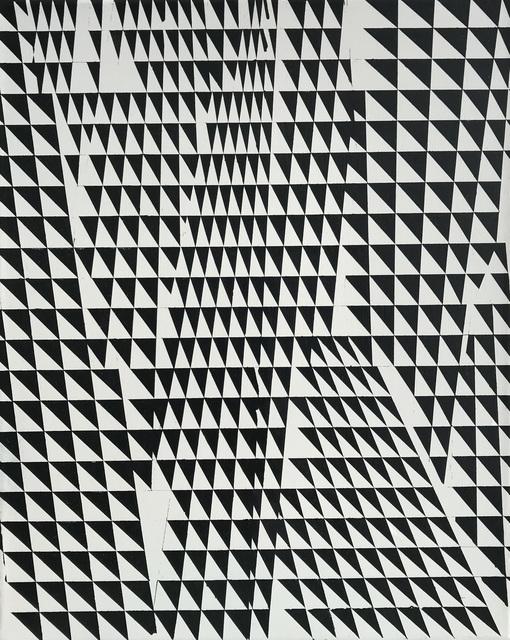 , 'Triangulacion en Negro,' 2018, Maddox Arts