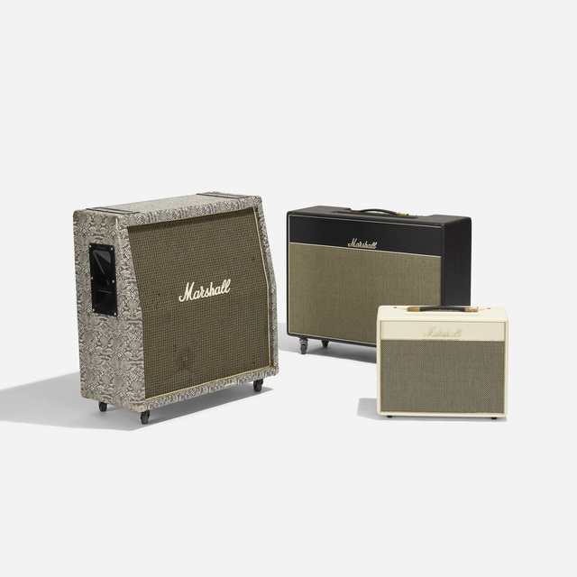 Marshall, 'Collection of Three Amplifiers', c. 1975, Wright