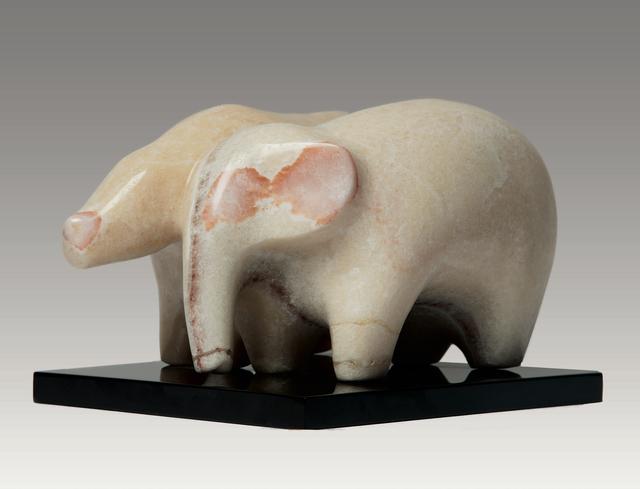 , 'Young Friends,' , Robert Hooke Sculpture Gallery