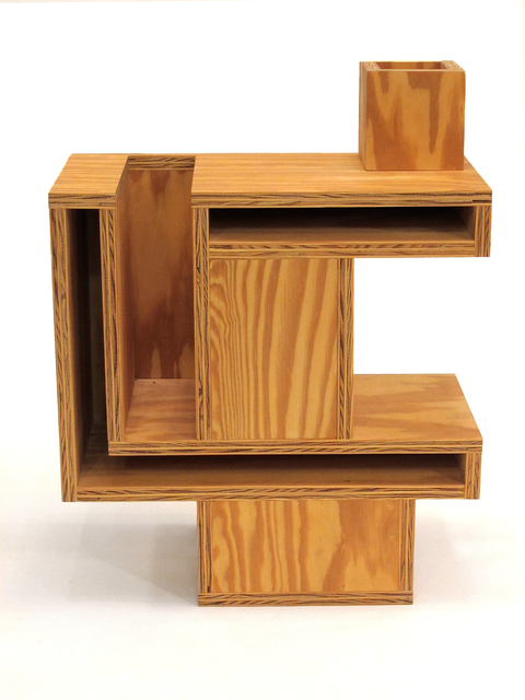 RO/LU, 'Mini-Ettore Nightstand', 2011, Design/Decorative Art, Plywood, Patrick Parrish Gallery
