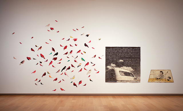 , '84 Sparrows,' 1980, Mark Moore Fine Art