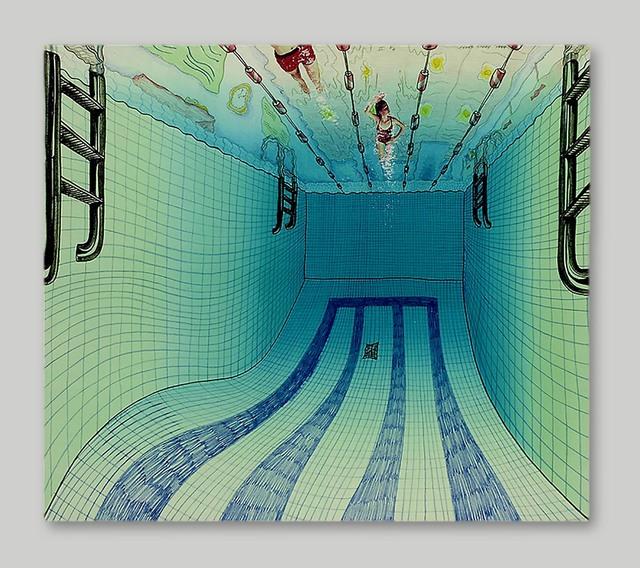 , 'Pool II,' 1984, Burnet Fine Art & Advisory