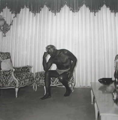 Diane Arbus, 'Charles Atlas seated in his Palm Beach House', 1969, Photography, Silver gelatin print, printed later, Michael Hoppen Gallery