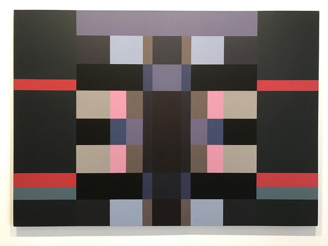 , 'Acrylic No. 5,' 1981, Leon Tovar Gallery