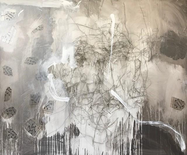 , 'Head Series: Line Silver,' 2019, ÆRENA Galleries and Gardens