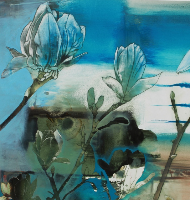 Kay Bradner, 'Magnolias', 2017, Seager Gray Gallery