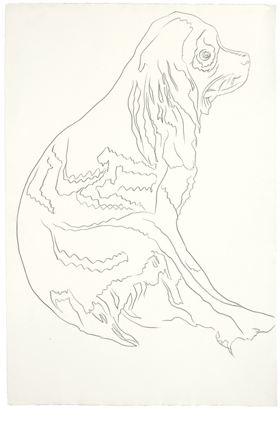Andy Warhol, 'Dog (Cocker Spaniel)', 1980, Omer Tiroche Gallery
