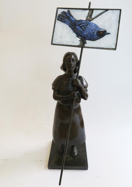 Pedro Ruiz, 'Blue Bird', 2019, Beatriz Esguerra Art