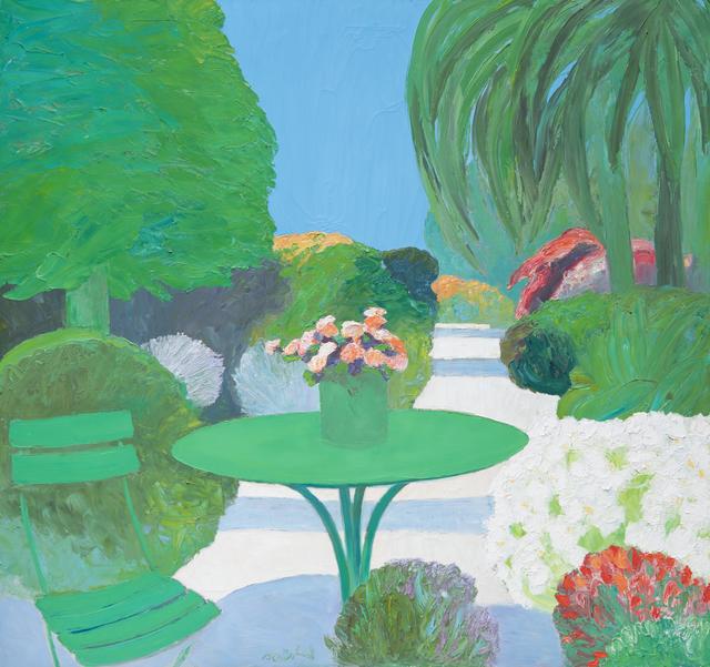 Roger Muhl, 'Jardin a Cannes', ca. 2000, Odon Wagner Gallery