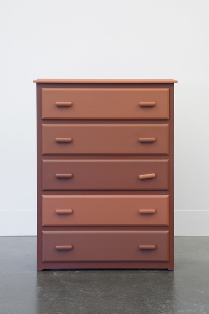 , 'The Chest of Drawers behind James Jamesson and Jimmy Fanz in Raging Stallion Studios' Timberwolves,' 2014, Lora Reynolds Gallery