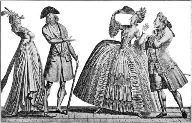 , 'Ah, quelle antiquité !!! Oh ! Quelle folie que la nouveauté ,' 1797, Les Arts Décoratifs