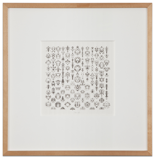 , 'Inkblot Drawing (September 6, 1993),' 1993, Kohn Gallery
