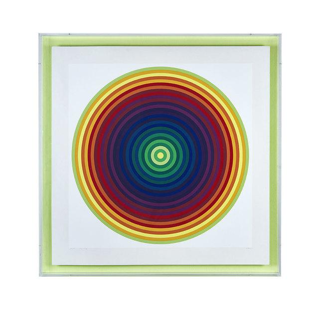 Julio Le Parc, 'Kreisgrafik aus Serie 23', 1971, Galerie Kellermann