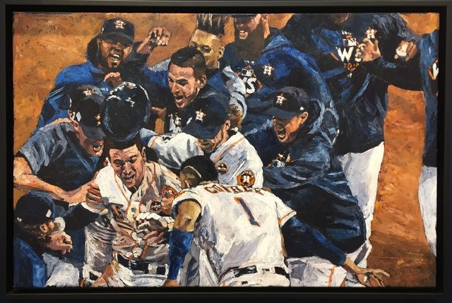 , 'Bregman Walk Off Game 5,' 2018, Off the Wall Gallery