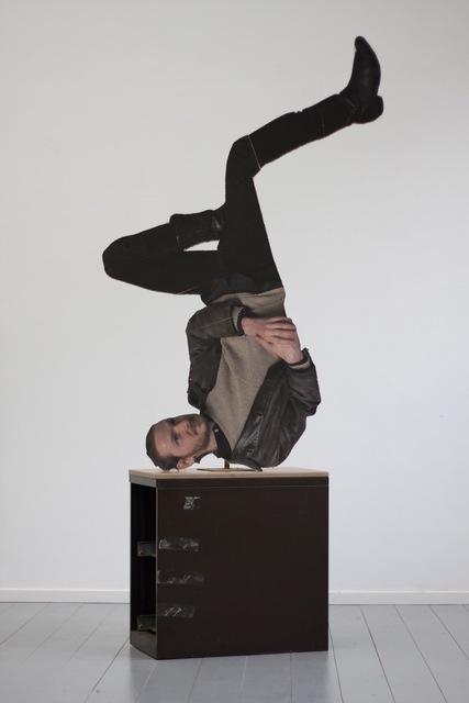 , 'Antony Doing Yoga,' 2014, C&H gallery