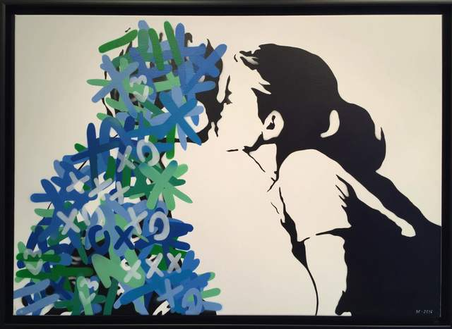 , 'The Kiss [Blue & Green edition],' 2016, Reem Gallery