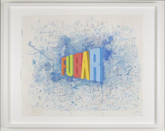 Wayne White, 'Fubar', 2019, Joshua Liner Gallery