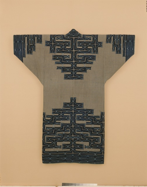 , 'Ainu Robe (ci-karkar-pe),' 19th century, Seattle Art Museum