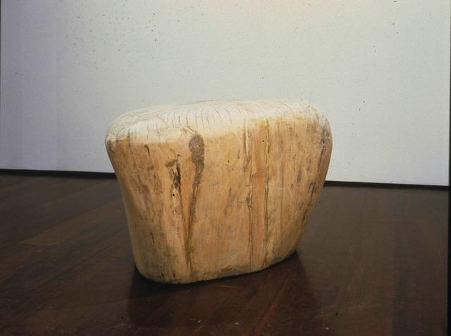 Jene Highstein, 'Tri-Cornered Poplar Wood Carving', 1989, DANESE/COREY
