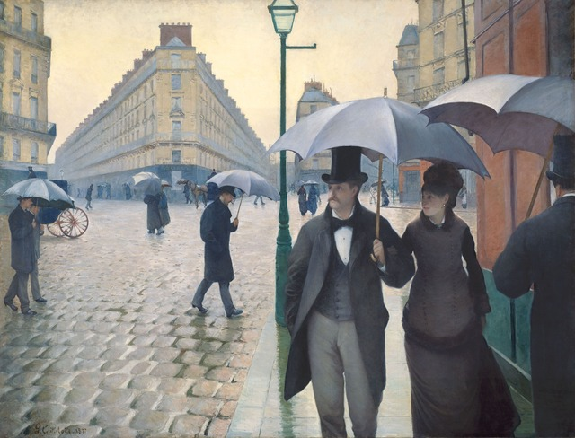 Gustave Caillebotte, 'Paris Street; Rainy Day', 1876-1877, Art Institute of Chicago
