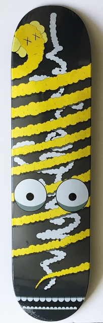 KAWS, 'Yellow Snake (Limited Edition, Numbered) Skate Deck', 2005, Alpha 137 Gallery