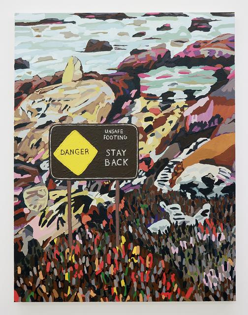 , 'Unsafe Footing,' 2018, Halsey McKay Gallery