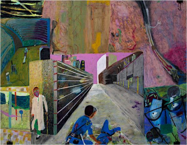 , 'Chemical Skoids Void Balance,' 1990, David Barnett Gallery