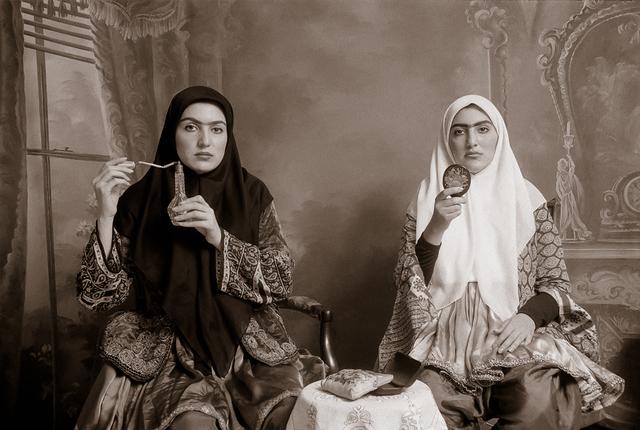 , 'Qajar #7,' 1998, Officine dell'Immagine