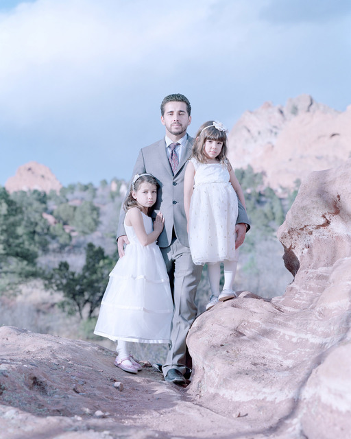 , 'Laila Sa, 7 years, Antonio Sa & Maya Sa, 5 years. Colorado Springs, Colorado,' , Pictura Gallery