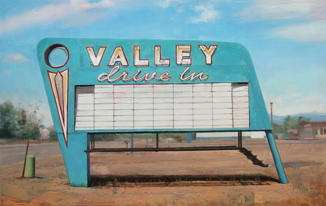 , 'Valley Drive In,' 2017, Sue Greenwood Fine Art