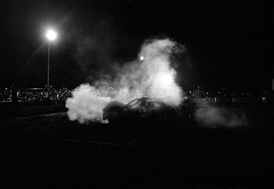 , 'SUICIDE motorwork #7 night of destruction,' 2008, mfc - michèle didier