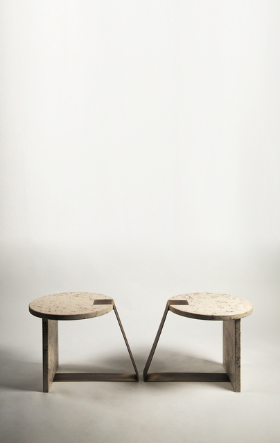 , 'Pair of Anello low tables,' 2016, Nilufar Gallery