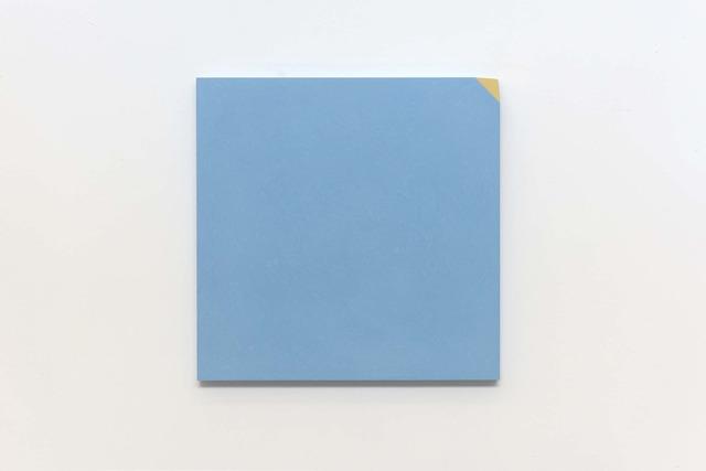 Ettore Spalletti, 'Ma, sì, blu di Prussia e oro', 2018, Vistamare/Vistamarestudio