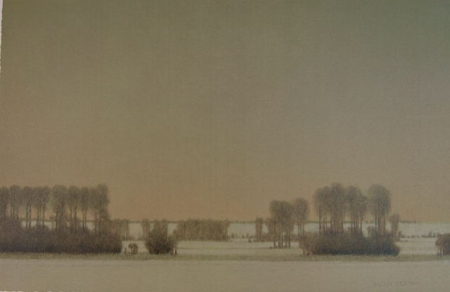 , 'VALLEY OF THE MADISON IN WINTER,' 2010, Fitzwater Street Gallery