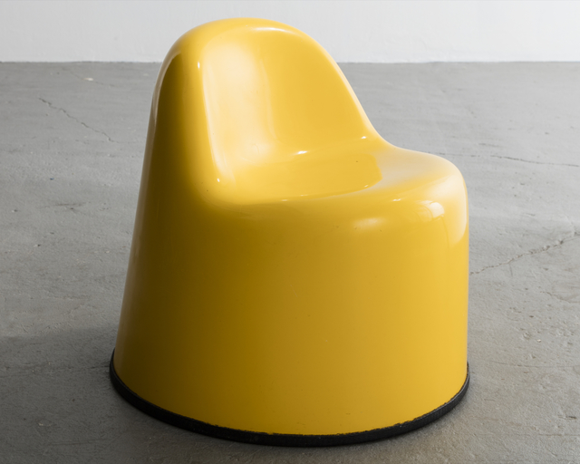 """, '""""Molar Group Baby Molar"""" chair in gel-coated fiberglass reinforced plastic. Designed and manufactured by Wendell Castle, Rochester, New York, 1969.,' 1969, R & Company"""